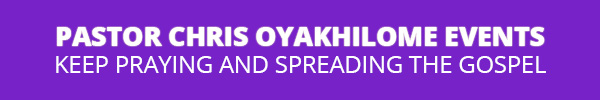 Pastor Chris Oyakhilome Events logo