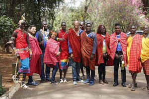 Leadership cultural integration program with the iconic Masai tribe