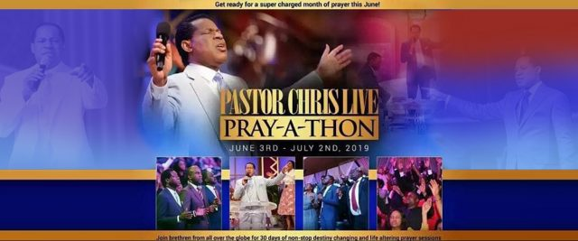 PRAY-A-THON WITH PASTOR CHRIS