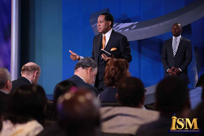 The great Pastor and preacher Dr Chris Oyakhilome