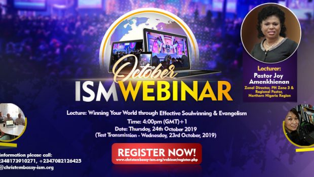 ISM Webinar October 2019