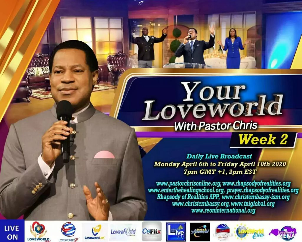 pastor chris prayer week