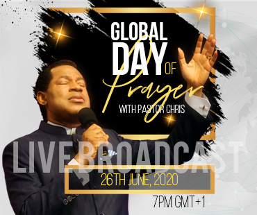 Global Day of Prayer Pastor Chris