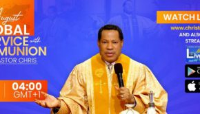 Global Communion service August